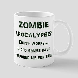 ZOMBIE APOCALYPSE? Don't worry...video  Mug