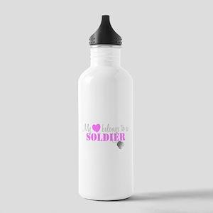 My 3 belongs to a Soldier Water Bottle