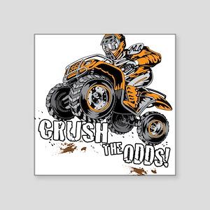 ATV Quad Crush Sticker