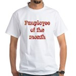 Funployee of the Month White T-shirt