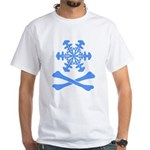 Snow and Crossbones White T-shirt