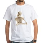 Skeleton Pal White T-shirt