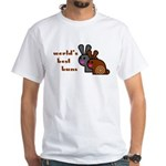 World's Best Buns White T-shirt