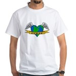 Earth Day Mother Tattoo White T-shirt