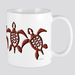 Trible Turtles Mug