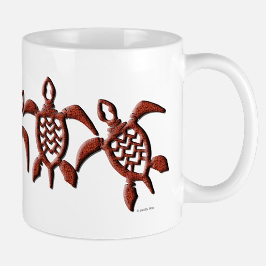 Trible Turtles Mug