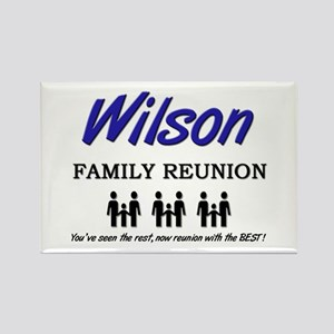 Wilson Family Reunion Rectangle Magnet