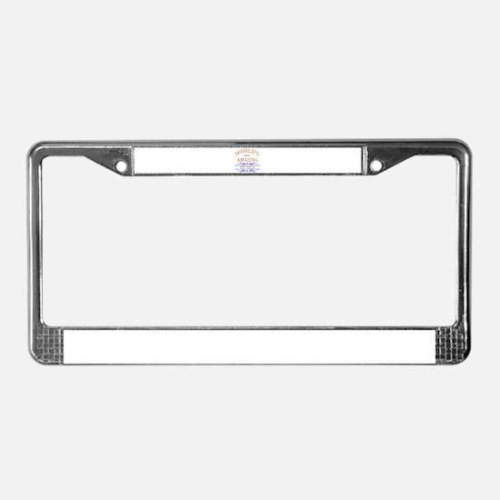 Vet Tech License Plate Frame