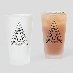 LAMBDA FRATERNITY Drinking Glass