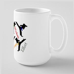Martial Arts Student Large Mug