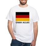 Deutschland, Deutschland Über White T-shirt