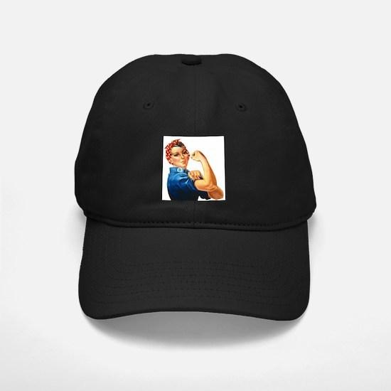 vintage rosie Baseball Hat