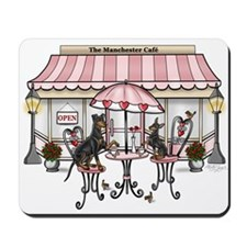Manchester Terrier Cafe Mousepad