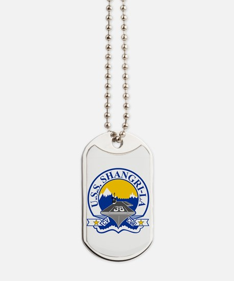 Uss Shangri-La Cv-38 Dog Tags