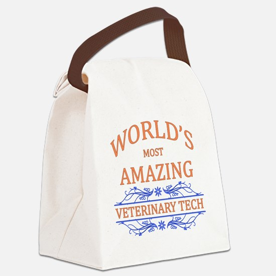 Veterinary Tech Canvas Lunch Bag
