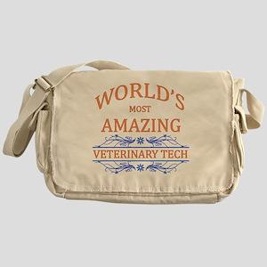 Veterinary Tech Messenger Bag