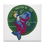 USS DOGFISH Tile Coaster