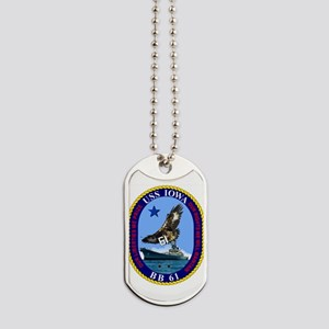 Uss Iowa Bb-61 Dog Tags