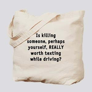 Texting while driving - Tote Bag
