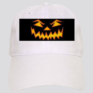 Scary Pumpkin Face D Baseball Cap
