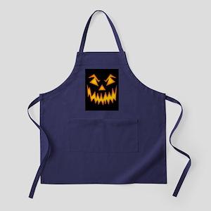 Scary Pumpkin Face M Apron (dark)