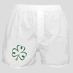 Shamrock clover Boxer Shorts