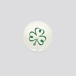Shamrock clover Mini Button