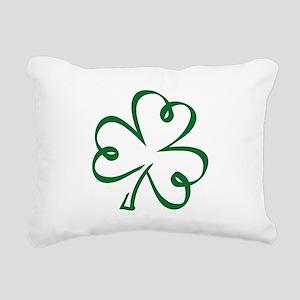 Shamrock clover Rectangular Canvas Pillow