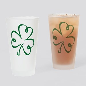 Shamrock clover Drinking Glass