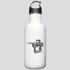 vintage sewing machine Stainless Water Bottle 1.0L