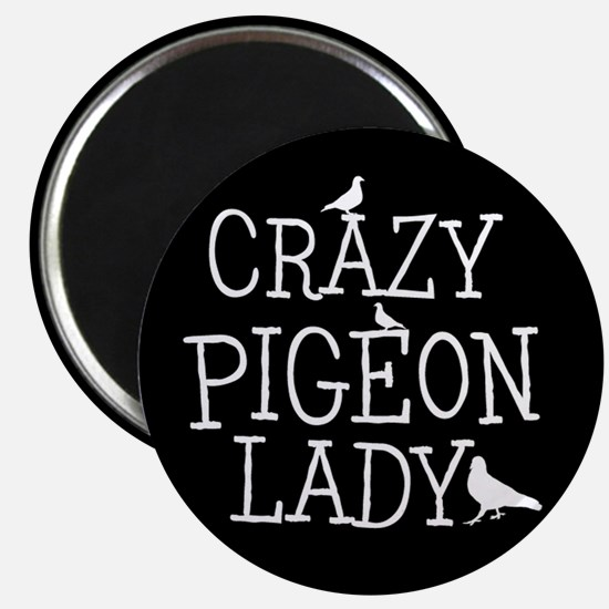 Crazy Pigeon Lady Magnets