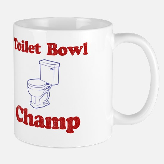 Toilet Bowl Champ Fantasy Football Lose Mug