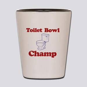 Toilet Bowl Champ Fantasy Football Lose Shot Glass