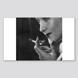 vintage smoking Sticker