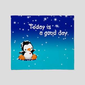 Good Day! Throw Blanket