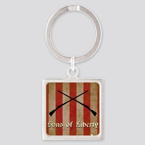 Sons of Liberty Flag Keychains
