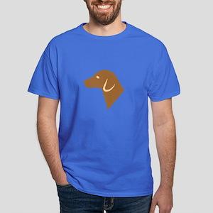Dog Silhouette Dark T-Shirt