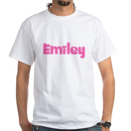 """Emiley"" White T-shirt"