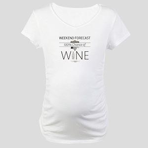 Weekend Forecast Maternity T-Shirt