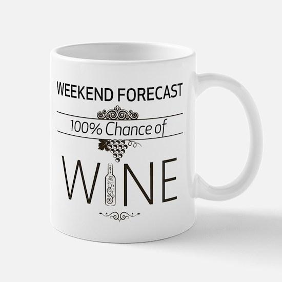 Weekend Forecast Mug