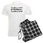 To Hell With Eternal Damnatio Men's Light Pajamas