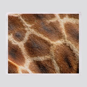 Giraffepattern Throw Blanket