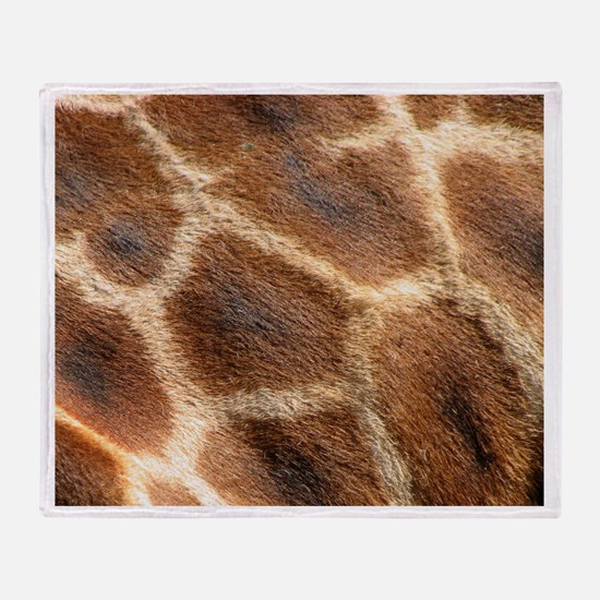 Giraffepattern.jpg Throw Blanket