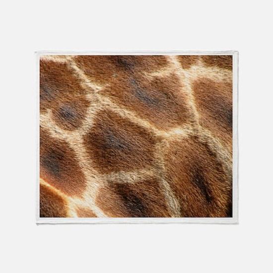 Giraffepattern.jpg Throw Blanket