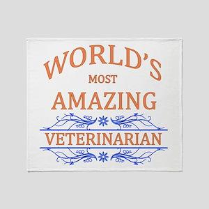 Veterinarian Throw Blanket