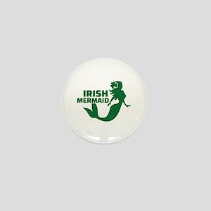 Irish mermaid Mini Button