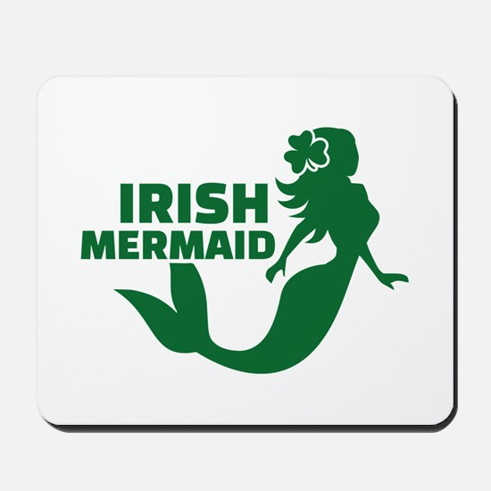 Irish mermaid Mousepad