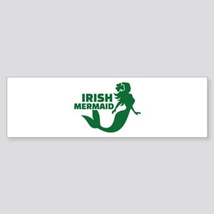 Irish mermaid Sticker (Bumper)