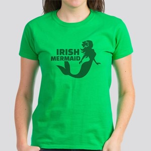 Irish mermaid Women's Dark T-Shirt