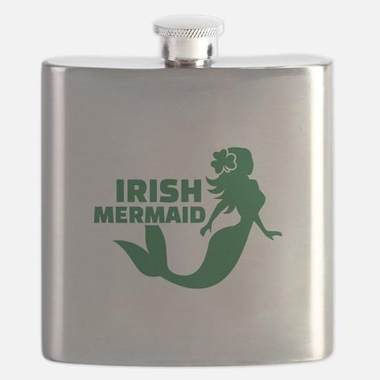Irish mermaid Flask